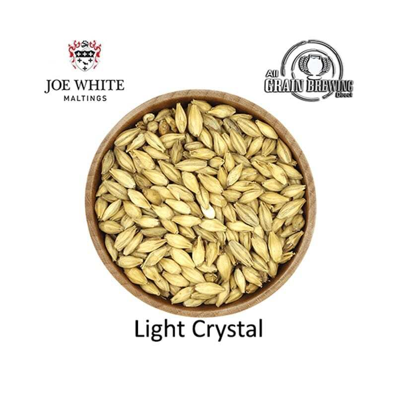 Joe White Light Crystal Malt