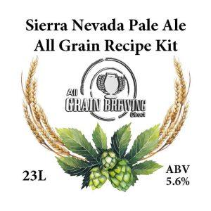 Sierra Nevada Pale Ale All Grain Recipe Kit