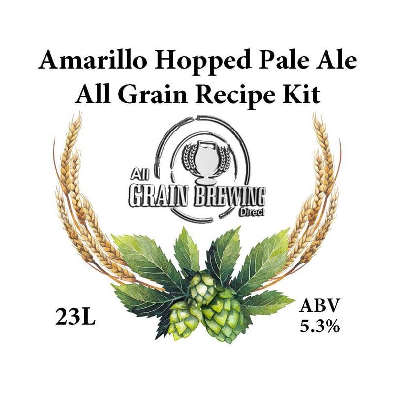 Amarillo Hopped Pale Ale All Grain Recipe Kit