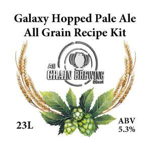 Galaxy Hopped Pale Ale All Grain Recipe Kit