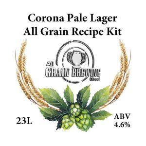 Corona Pale Lager All Grain Recipe Kit