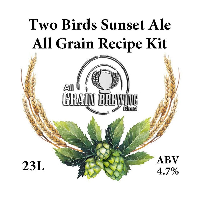 Two Birds Sunset Ale All Grain Recipe Kit