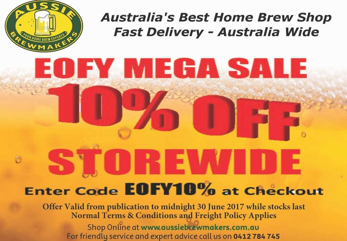 Web Store Specials - June 2017 - 10% off storewide with code EOFY10% 9