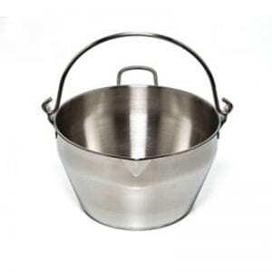 Fowlers Vacola - Preserving Pan - Stainless Steel