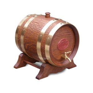 4.5 Litre Oak Maturation Keg - Teak