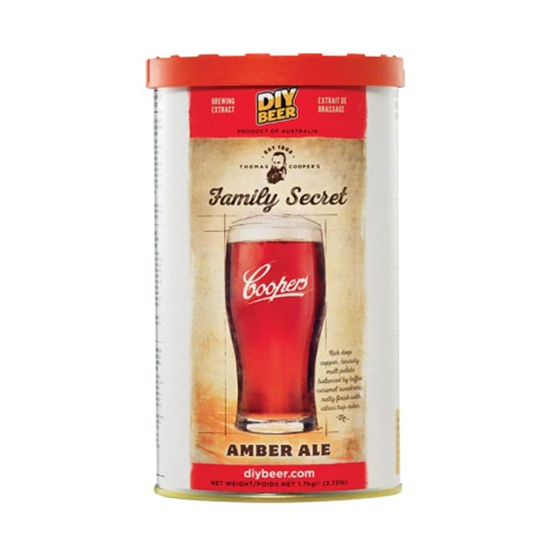 Thomas Coopers Series Family Secret Amber Ale