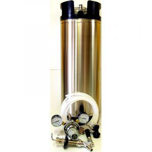 Complete Keg System for Fridge with SS Intertap Tap