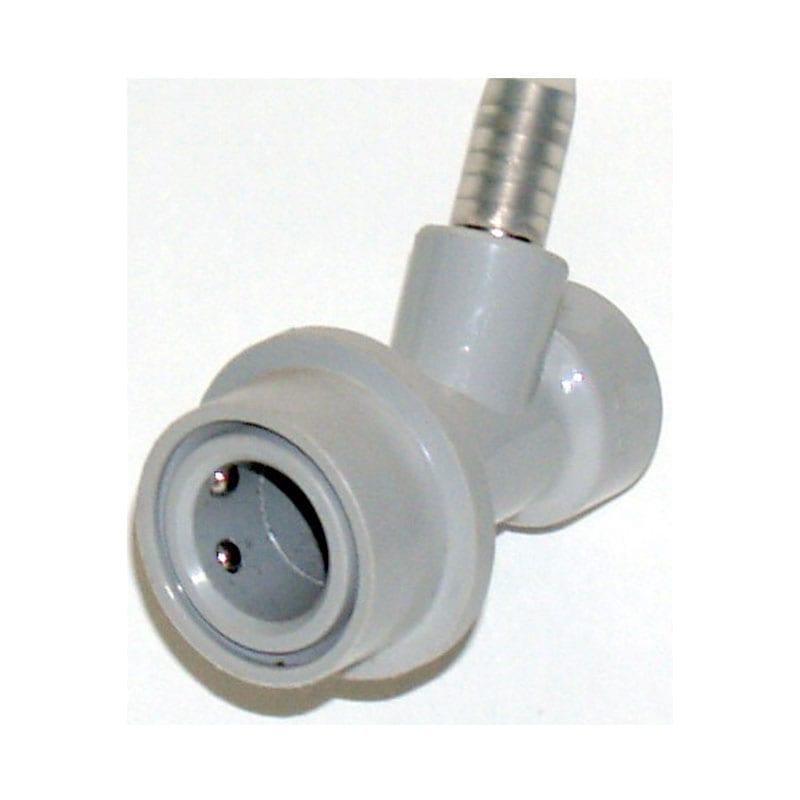 Ball Lock Keg Disconnect - Gas - Barb