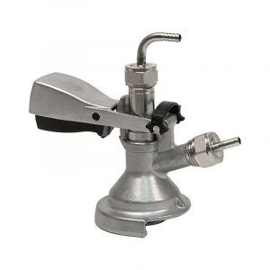 """""""A"""" Type Keg Coupler - Stainless Steel"""