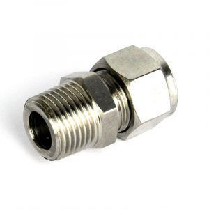12.7mm Compression Fitting to 1/2 Inch BSP