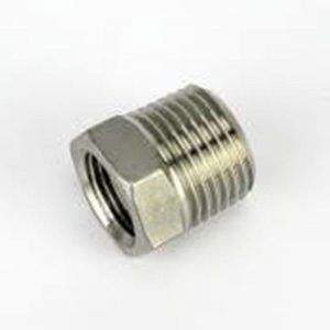 "1/2"" BSP x 3/4"" BSPStainless Steel Reducing Bush"