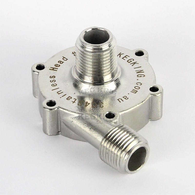 Stainless Pump Head for 25w MkII Magnetic Drive Pump
