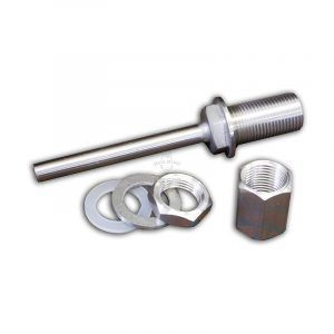 Solid Stainless 100mm Weldless Thermowell