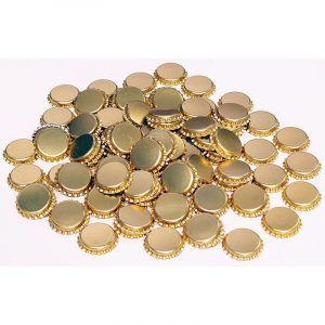 Crown Seals Gold - Beer - 250 Pack
