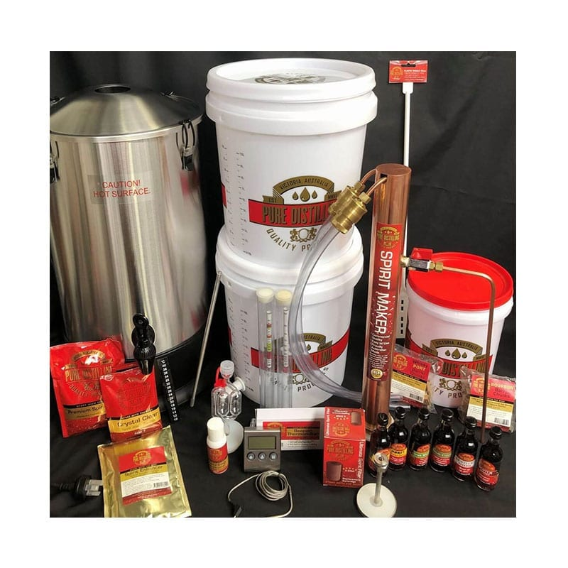 Pure Distilling Complete All In One System