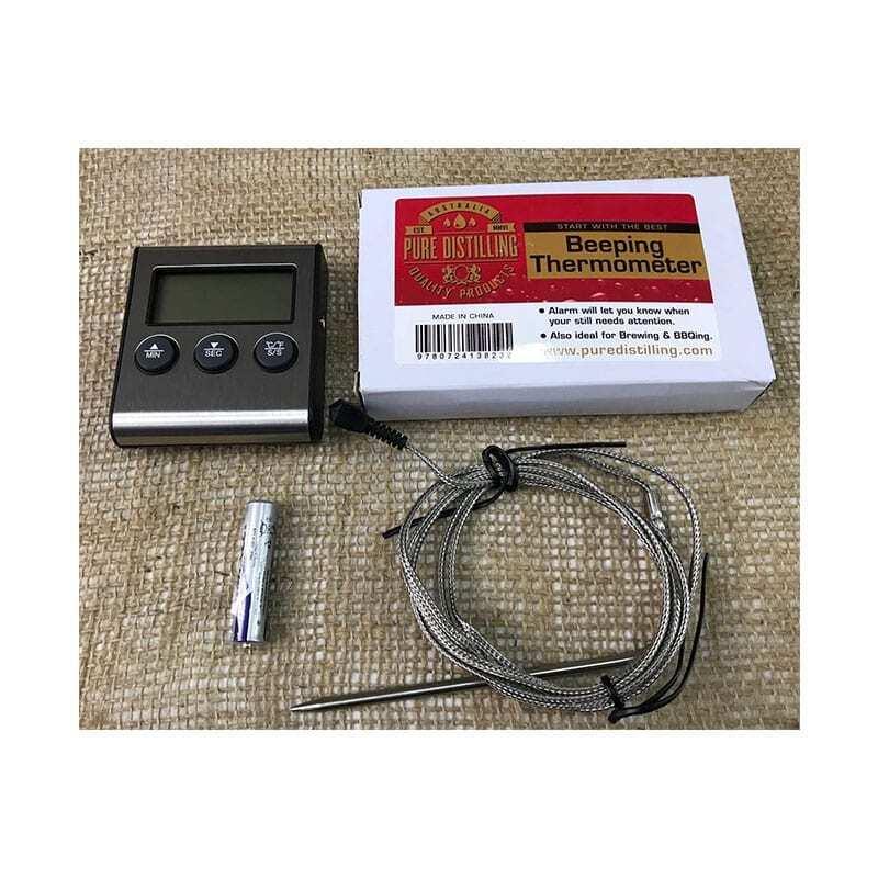 Pure Distilling Distilling Thermometer / Alarm