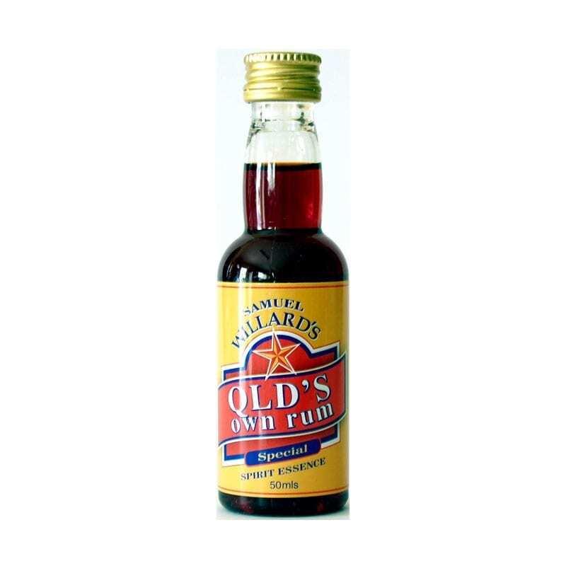 Samuel Willards Gold Star Queensland Rum