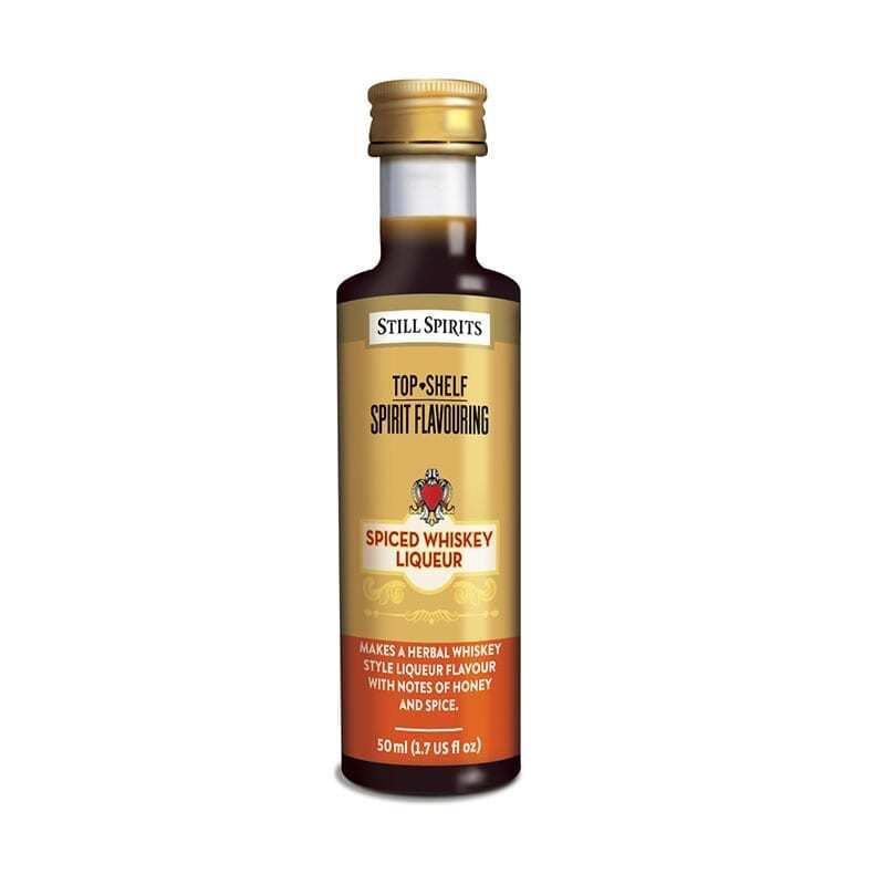 Top Shelf - Spiced Whiskey Liqueur