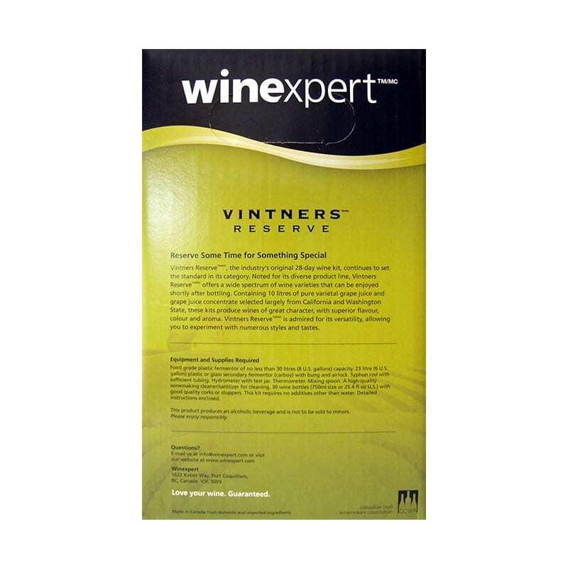 Wine Kit-Vintners Reserve Chardonnay