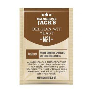 Mangrove Jacks Craft Series - M21 Belgian Wit Yeast
