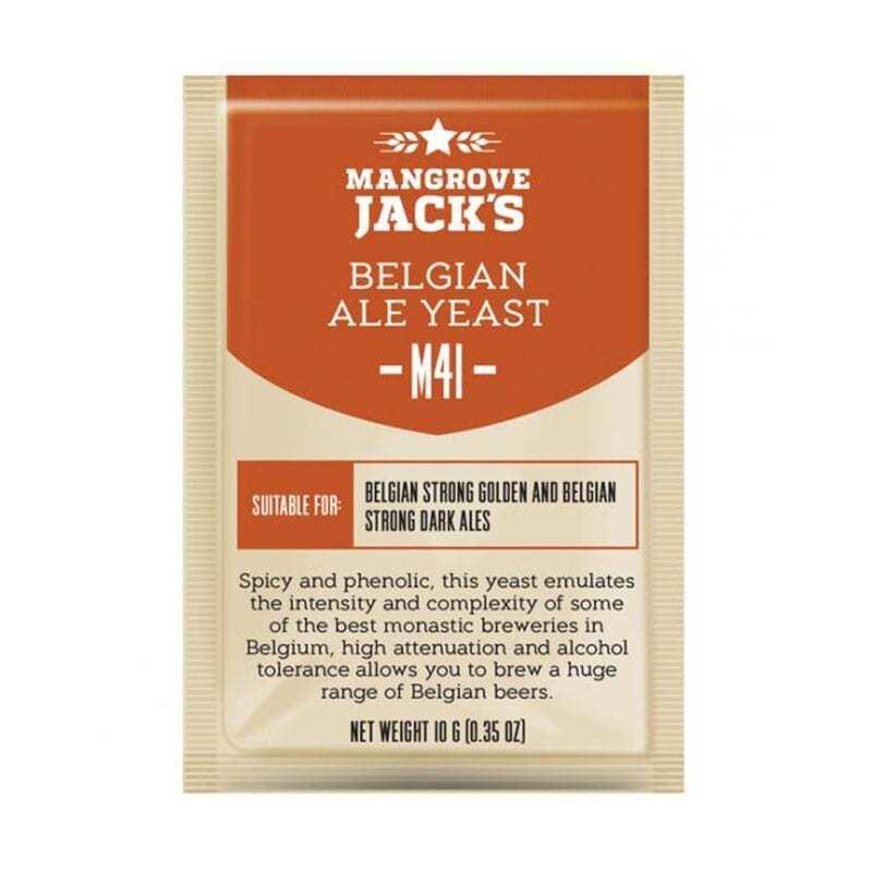 Mangrove Jacks Craft Series - M41 Belgian Ale Yeast