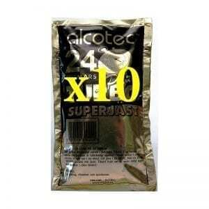 10 x Alcotec 24 Turbo Yeast Value Pack