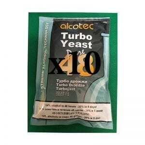 10 x Alcotec 48 Turbo Yeast Value Pack