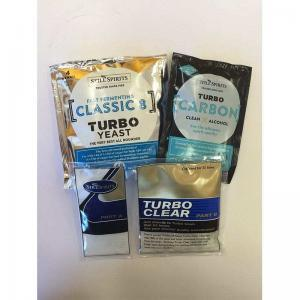 Classic 8 Turbo Yeast & Turbo Clear & Turbo Carbon Pack