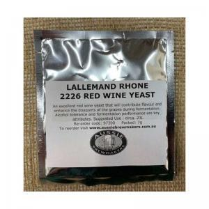 Lallemand Rhone 2226 Red Wine Yeast - 7g