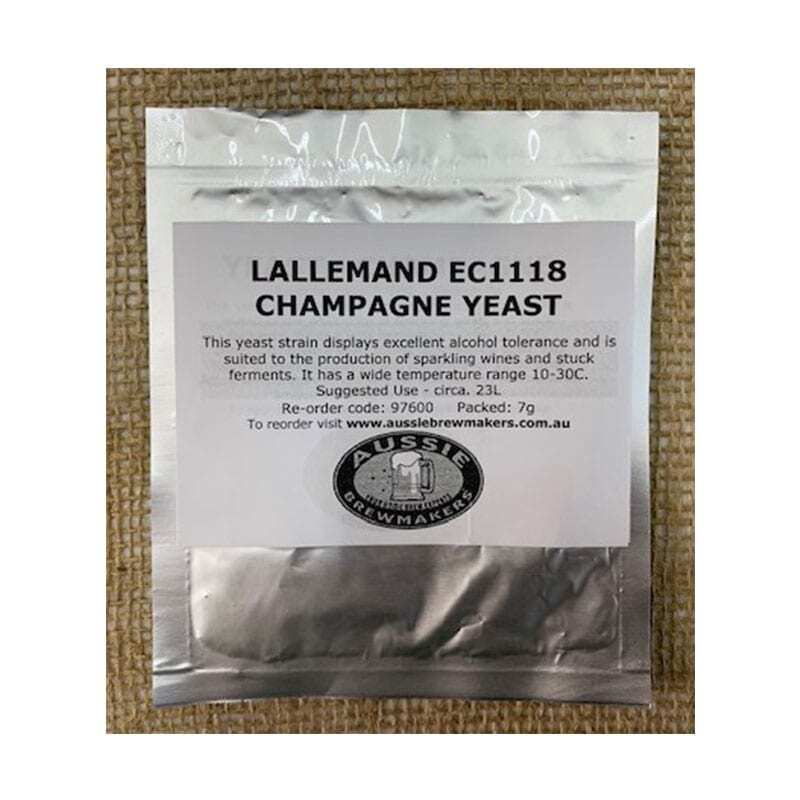 Lallemand EC1118 Champagne Yeast - 7g