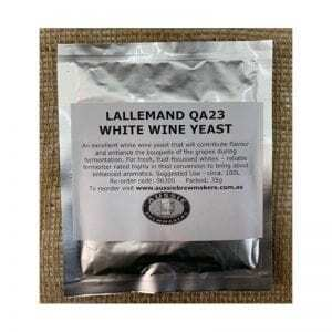 Lallemand QA23 White Wine Yeast - 35g