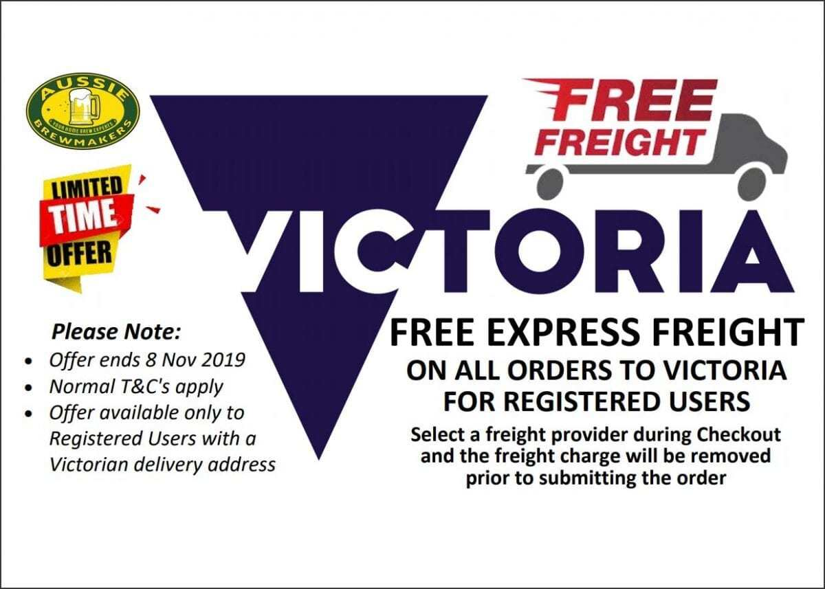 Free Express Shipping for Victorian Customers 2