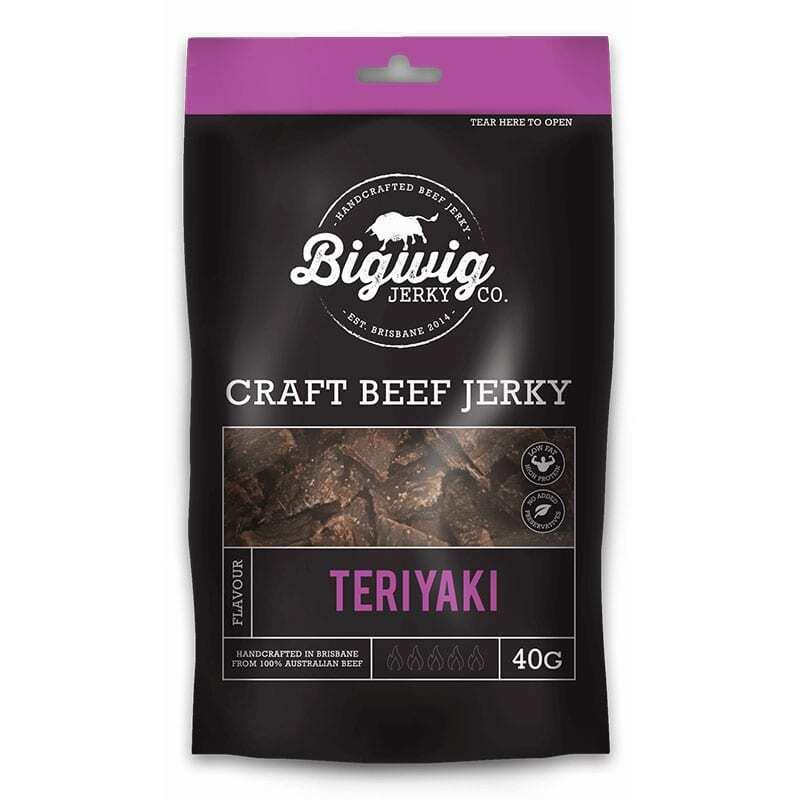 Bigwig Teriyak Beef Jerky 40g