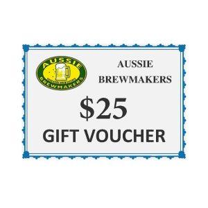Aussie Brewmakers $25 Gift Voucher