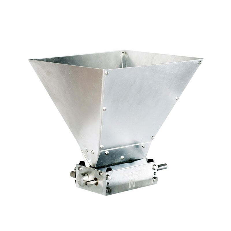 MillMaster Fluted Grain Mill Hopper