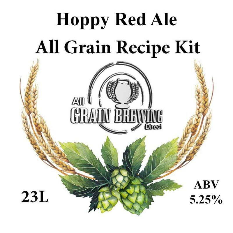 Hoppy Red Ale All Grain Recipe Kit