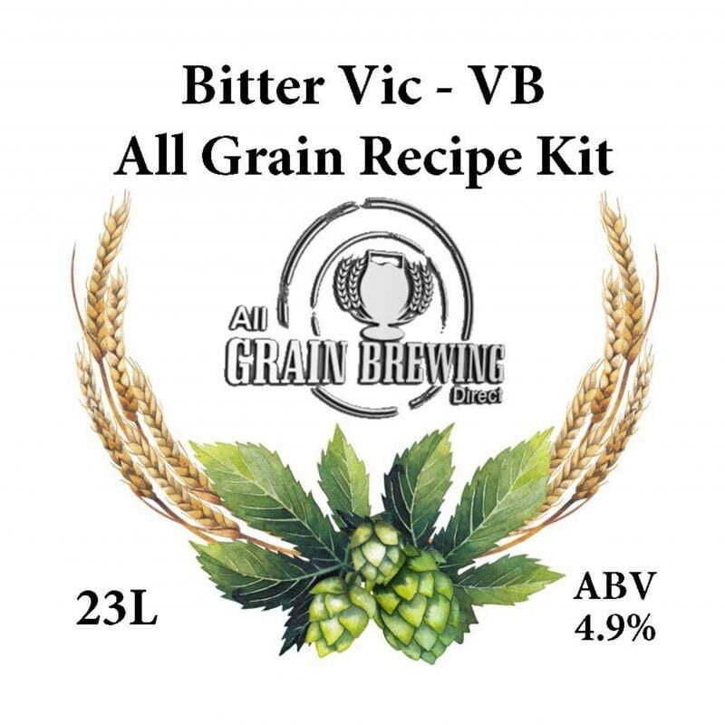 Victoria Bitter All Grain Recipe Kit