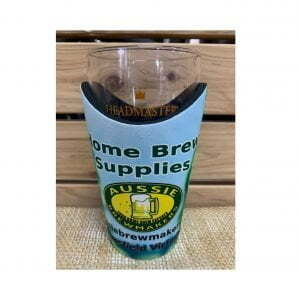 Aussie Brewmakers Schooner Wave Cooler and 425ml Headmaster Glass