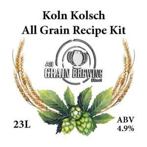 Koln Kolsch All Grain Recipe Kit